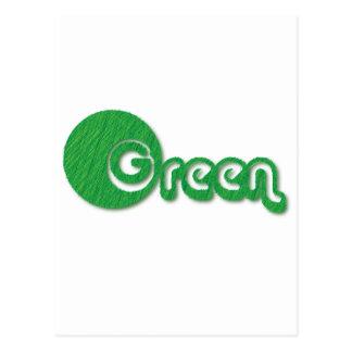 Green Grass Postcard