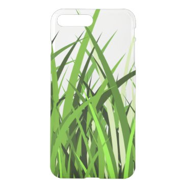 """""""Green Grass"""" Simple Clear Phone Case"""