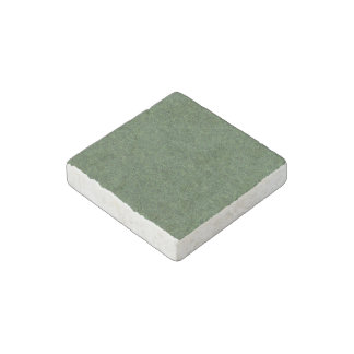 Green grass stone magnet