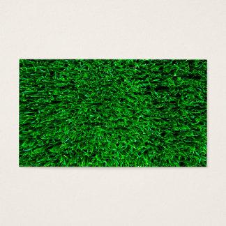 Green Grass Template Business Card