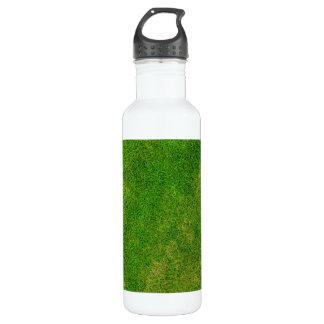 Green Grass Texture 24oz Water Bottle