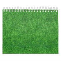 Green Grass Texture Abstract Background Calendar