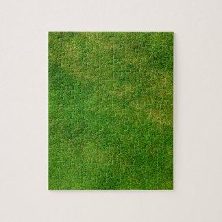 Green Grass Texture Jigsaw Puzzle
