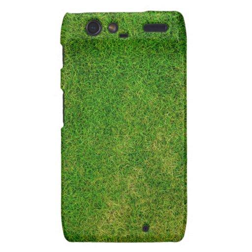 Green Grass Texture Motorola Droid RAZR Covers