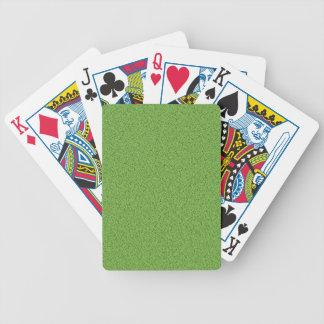 Green grass texture card decks
