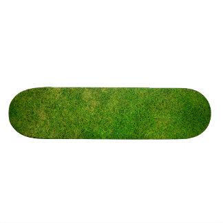 Green Grass Texture Skateboard Deck