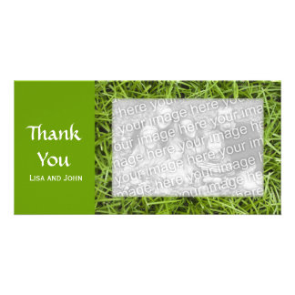 Green Grass Thank You Card