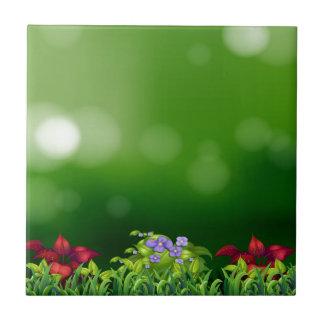 Green grass tile