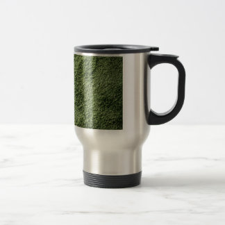 Green grass travel mug