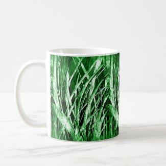 Green Grassy Coffee Tea Mug