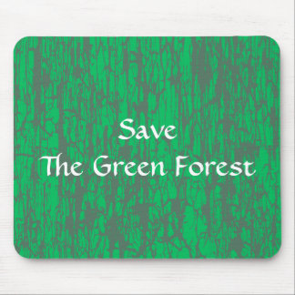 Green & Gray Mouse Pad