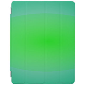 Green Green Abstract Painting iPad Cover
