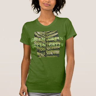 Green Green Green Green Ladies T-Shirt