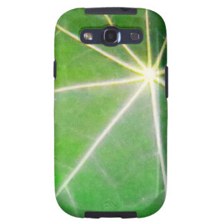GREEN GREEN LEAF fresh healthy gift Galaxy S3 Cover