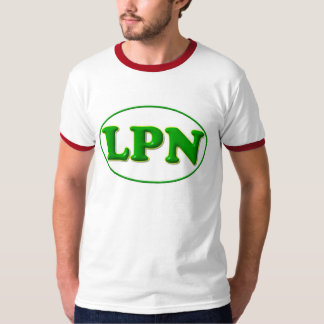 green green LPN Tee Shirt