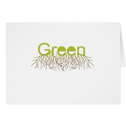 GREEN GREETING CARDS