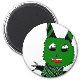 Green gremlin magnet