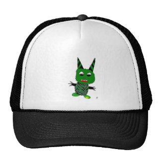 Green gremlin trucker hat