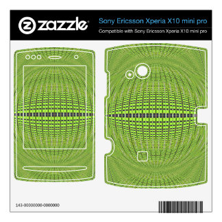 green grey abstract art xperia x10 skins