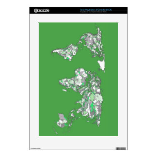 green grey map skins for PS3 console
