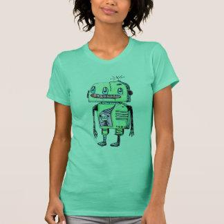 Green Grim Robot T-Shirt