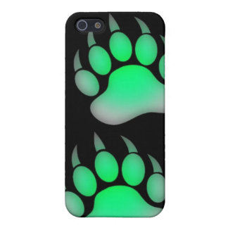 Green Grizzly Paw iPhone SE/5/5s Case