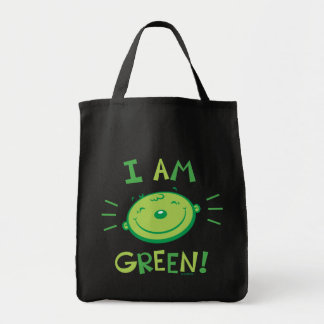 Green Grocery Tote Canvas Bags