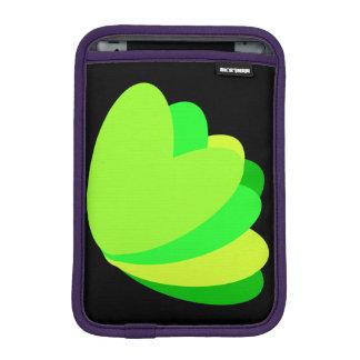 Green Grow Heart Sleeve For iPad Mini
