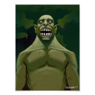 green growl poster