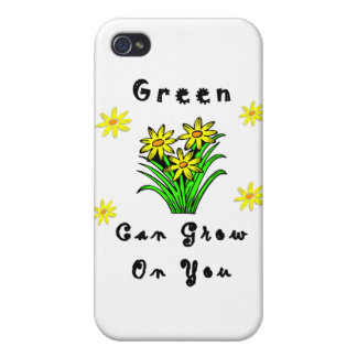 Green Grows On You iPhone 4 Cover