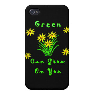 Green Grows On You Covers For iPhone 4