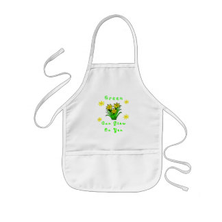 Green Grows On You Kids' Apron