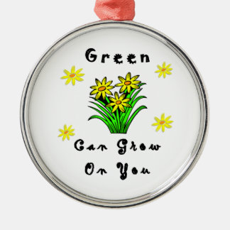Green Grows On You Christmas Tree Ornaments