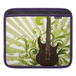 Green Grunge Guitar Sleeve For iPads