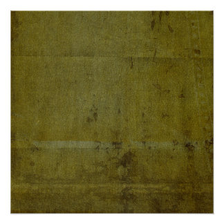 green grungy creased wall poster