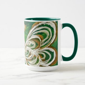 Green Guardian Angel Mug