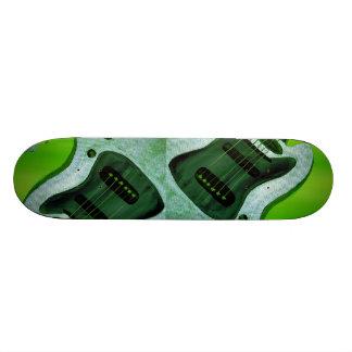 Green Guitar Skateboard