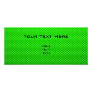 Green Guitarist Personalized Rack Card