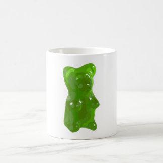Green Gummy Bear Candy Coffee Mug