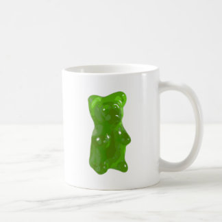 Green Gummy Bear Candy Mugs