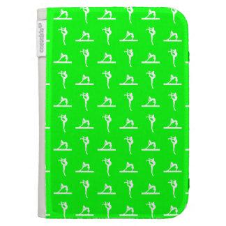 Green Gymnastics Kindle Case