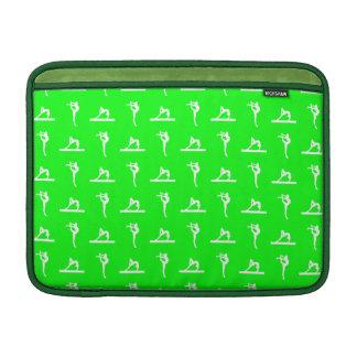 Green Gymnastics MacBook Air Sleeve