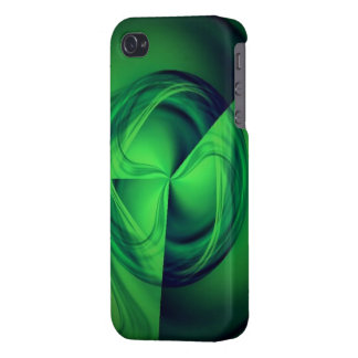 Green Halo energy iPhone case
