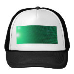 green halo gorros bordados