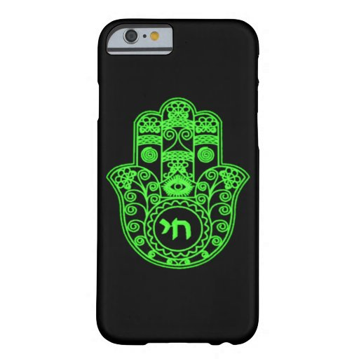 iphone 6 symbols green hamsa symbol barely there iphone 6 zazzle 11426