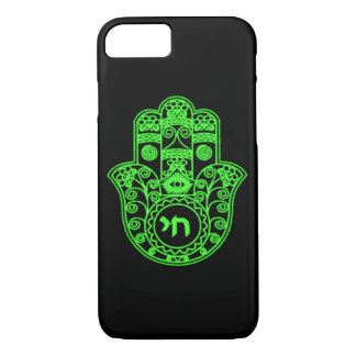 Green Hamsa Symbol iPhone 7 Case