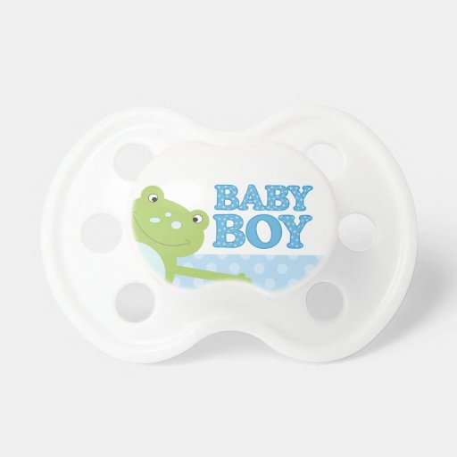 green happy leap frog baby boy baby pacifier zazzle