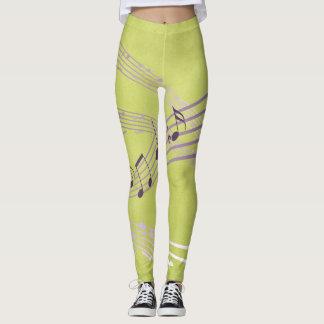 Green Harmony Leggings