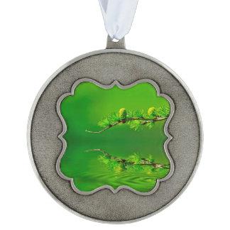 Green Harmony Ornament