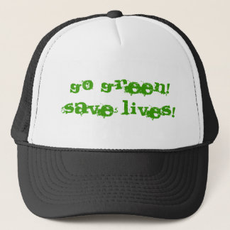 Green Hat! Trucker Hat